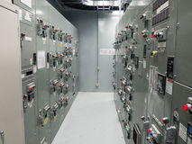 Motor Control Center Imágenes de archivo libres de regalías
