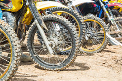 Motor cross Royalty Free Stock Photos