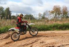 Motor-cross Racer stock photos