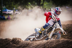 Motor Cross Stock Photo