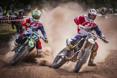 Motor Cross Stock Image