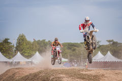 Motor Cross Royalty Free Stock Photography