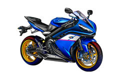 Motor cycle llustration color isolated art Stock Photo