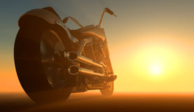 Motor cycle Stock Images