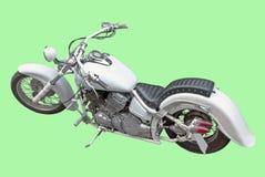 Motor cycler, geïsoleerdw beeld Stock Afbeelding