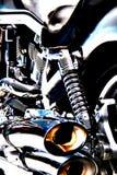Motor da bicicleta imagem de stock