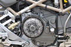 Motor da bicicleta do motor fotografia de stock