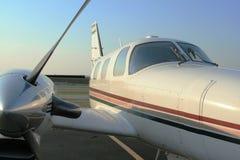 Motor da cabina do piloto fotografia de stock royalty free