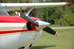 Motor da hélice imagem de stock