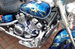 Motor da motocicleta Foto de Stock