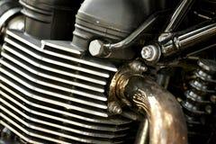 Motor da motocicleta Fotografia de Stock