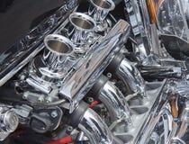 Motor da motocicleta Imagens de Stock