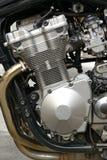 Motor da motocicleta do velomotor Foto de Stock