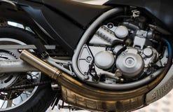 Motor da motocicleta para competir no trac imagens de stock royalty free