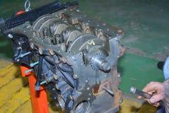 Motor da posição diesel Imagem de Stock