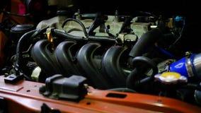 Motor da troca para yaris novos de Toyota Foto de Stock