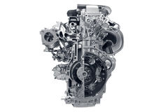 Motor de automóveis. imagem de stock