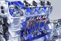 Motor de automóveis imagens de stock
