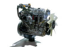 Motor de automóveis de 50 Bels Imagens de Stock Royalty Free