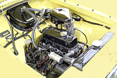 Motor de automóveis do vintage Fotos de Stock