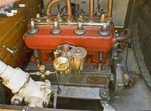 Motor de automóveis do vintage Fotografia de Stock