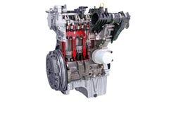 Motor de automóveis isolado Imagem de Stock