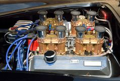 Motor de automóveis personalizado Fotos de Stock Royalty Free
