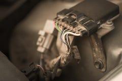 Motor de automóveis velho e sujo Imagem de Stock
