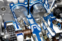 Motor de automóvil Fotos de archivo