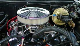 Motor de autom?veis velho de Chevrolet Feira autom?vel, Manassas, VA imagem de stock