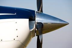 Motor de aviões Imagem de Stock Royalty Free
