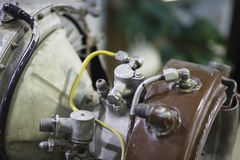 Motor de aviões do jato Fotografia de Stock Royalty Free