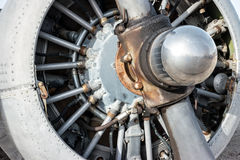 Motor de aviões radial Imagem de Stock Royalty Free