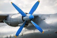 motor de avión Fotografía de archivo libre de regalías