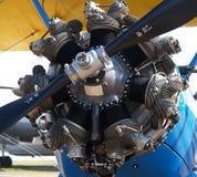 Motor de aviones Imagenes de archivo