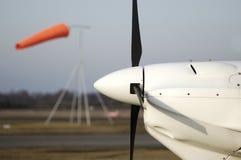 Motor de aviones Fotografía de archivo libre de regalías