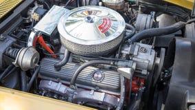 Motor de Chevrolet Corvette Imagen de archivo