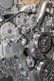 Motor de coche fotografía de archivo