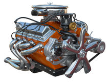 Motor de coche ilustración del vector