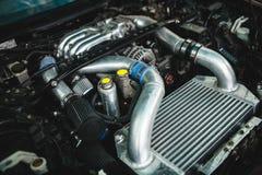Motor de coche Fotos de archivo libres de regalías