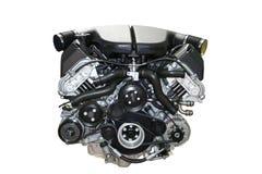 Motor de coche aislado Imagenes de archivo