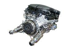Motor de coche aislado Fotos de archivo libres de regalías
