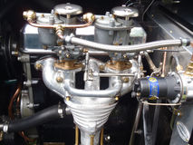 Motor de coche antiguo Fotos de archivo libres de regalías