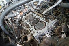 Motor de coche de la fijación usando método local en Tailandia Imágenes de archivo libres de regalías