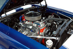 Motor de coche de la vendimia fotografía de archivo