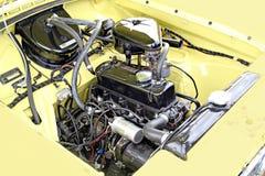 Motor de coche de la vendimia fotos de archivo