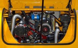 Motor de coche del vintage fotografía de archivo