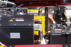 Motor de coche eléctrico Fotos de archivo libres de regalías