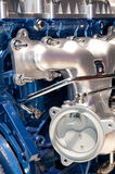 Motor de coche moderno Foto de archivo libre de regalías