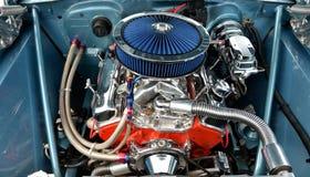 Motor de coche modificado para requisitos particulares Fotografía de archivo